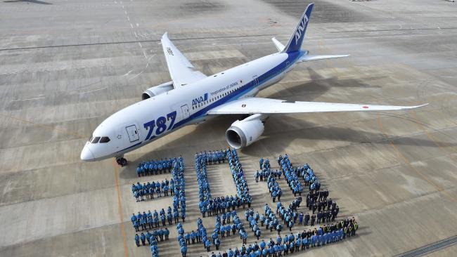 Why do Boeing planes start and end with the number 7?