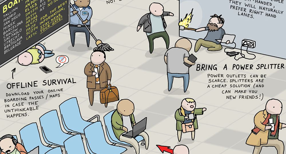 INFOGRAPHIC: EASY AIRPORT HACKS TO MAKE FLYING SUCK LESS