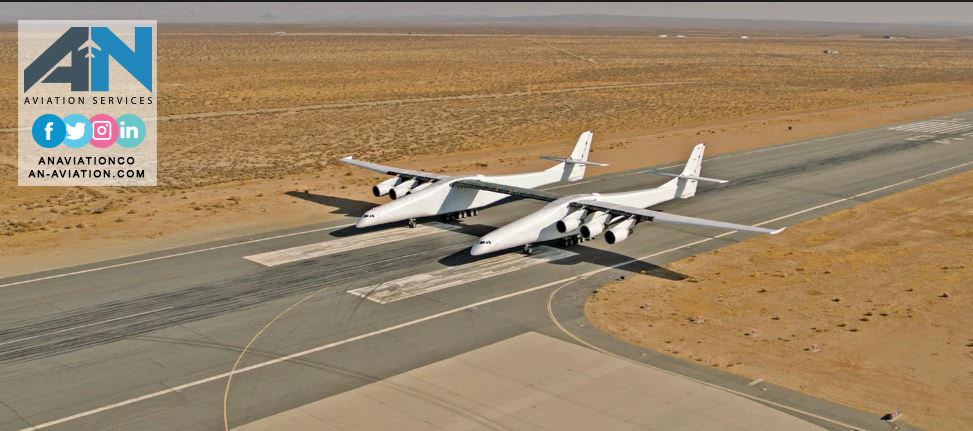 The World's Largest Plane: See The Stratolaunch in Action