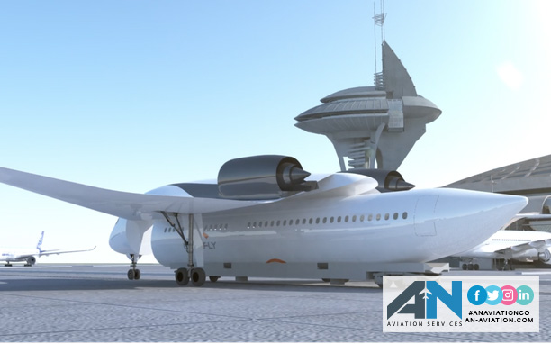 """Flying train's could be coming your way - Akka """"Link & Fly"""" flying train concept"""