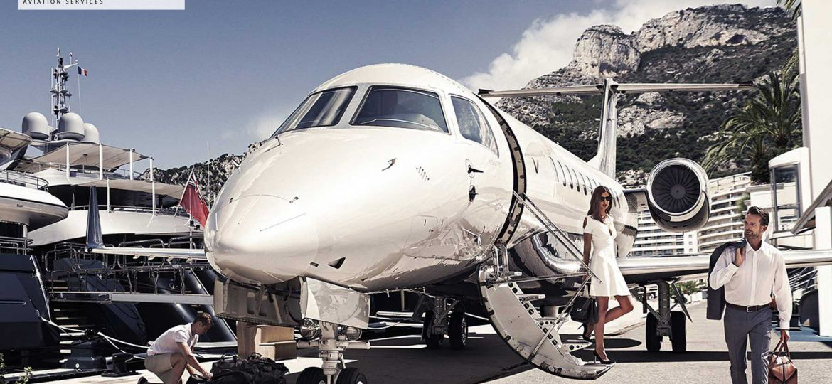ABOARD VICTOR, THE UBER OF PRIVATE JETS
