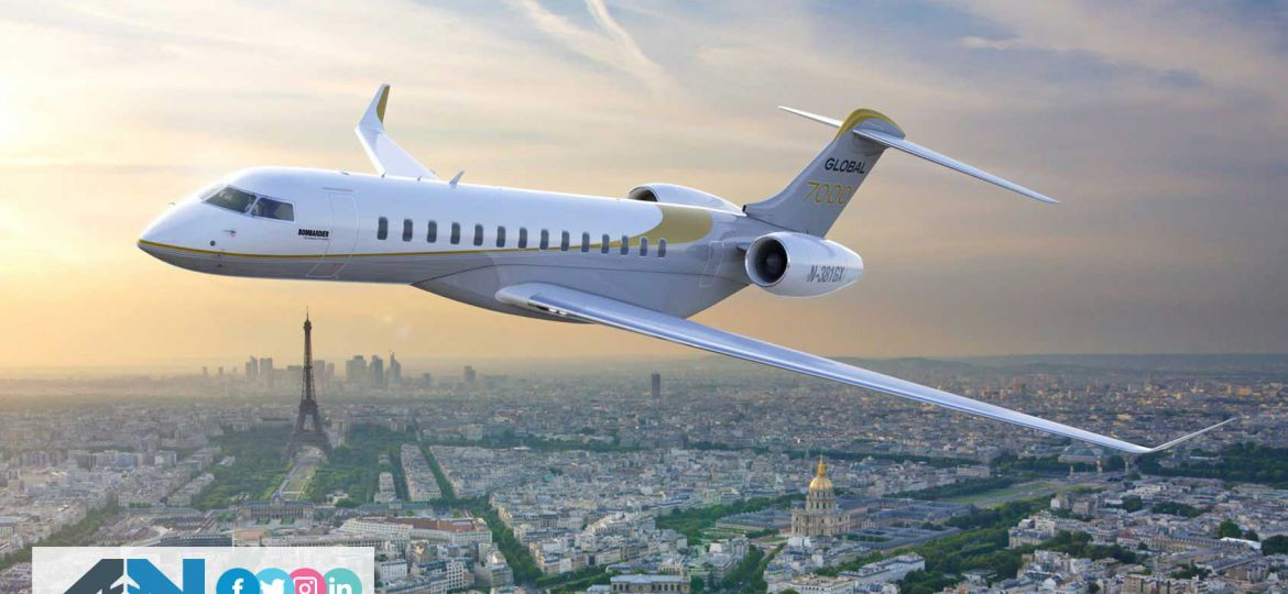 Most Luxurious Private Jet in the world