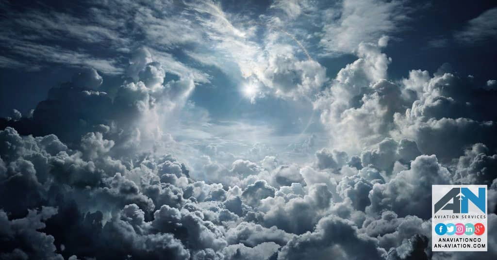 Cloud types and what they mean for pilots