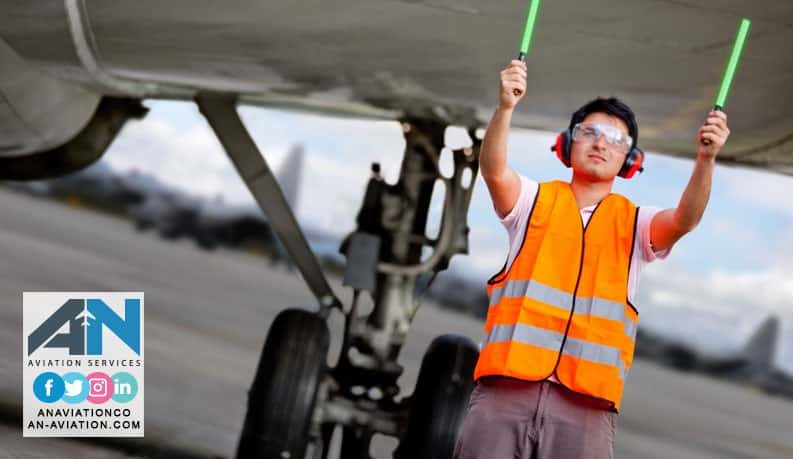 What Is Aircraft Marshalling ? - Ground handling - Aviation Services