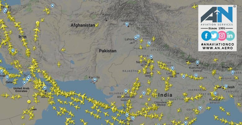Afghanistan opens new routes for transit flights as Pakistan airspace remains closed