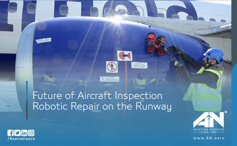 Future of Aircraft Inspection: Robotic Repair on the Runway