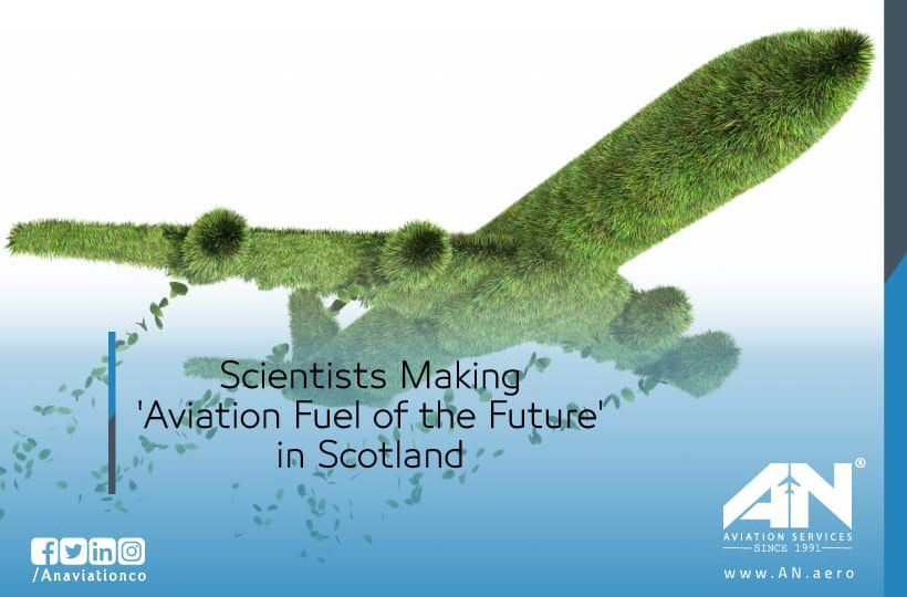 Scientists Making 'Aviation Fuel of the Future' in Scotland