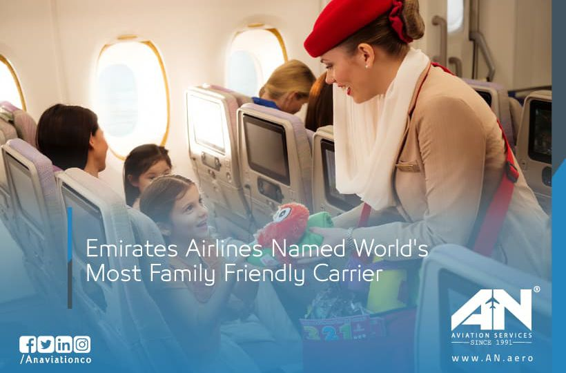 Emirates Airlines Named World's Most Family Friendly Carrier