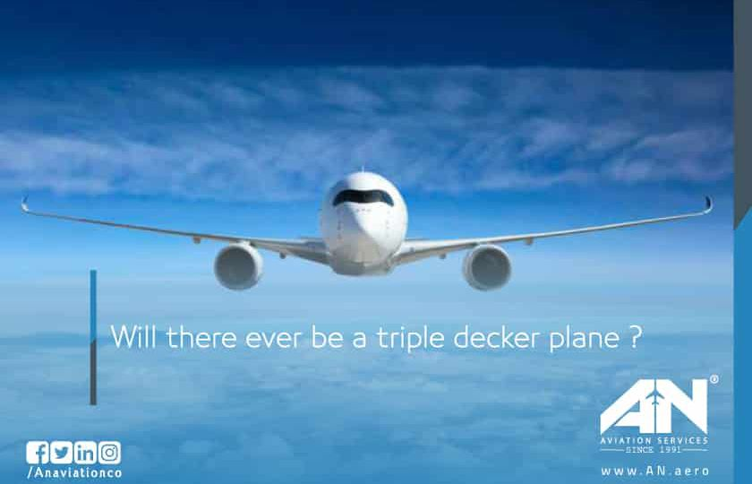 Will there ever be a triple decker plane ?