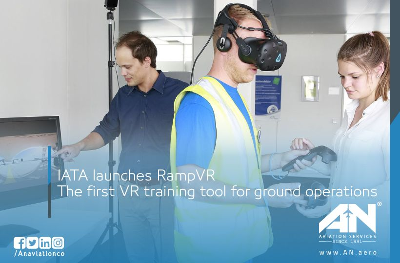 ground operator using RampVR