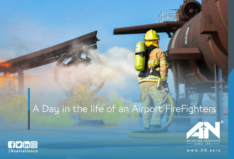 A Day in the life of an Airport FireFighters