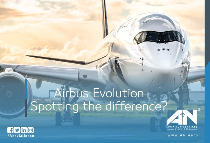 Airbus Evolution: Spotting the difference?