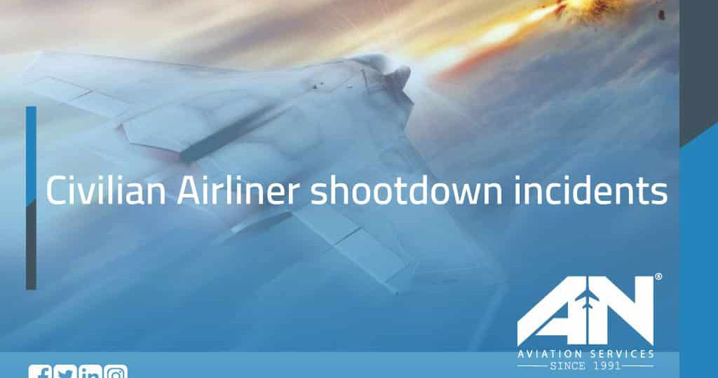 commercial Airliner shootdown incidents