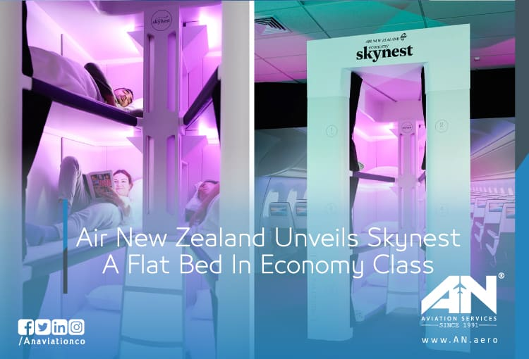 Air New Zealand Unveils Skynest A Flat Bed In Economy Class