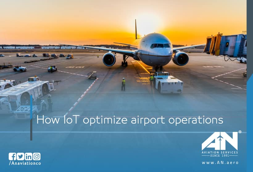 How IoT optimize airport operations