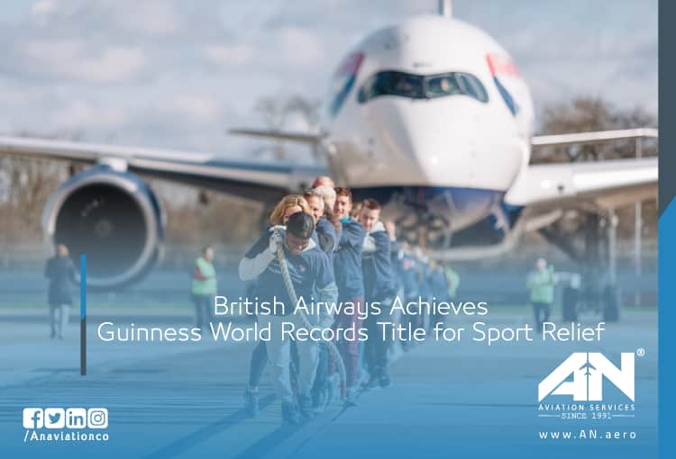 British Airways Achieves Guinness World Records Title for Sport Relief