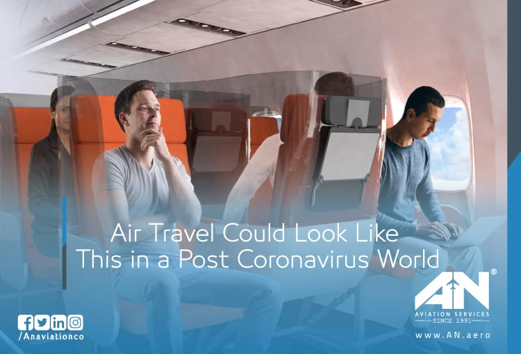 Air Travel Could Look Like This in a Post Coronavirus World