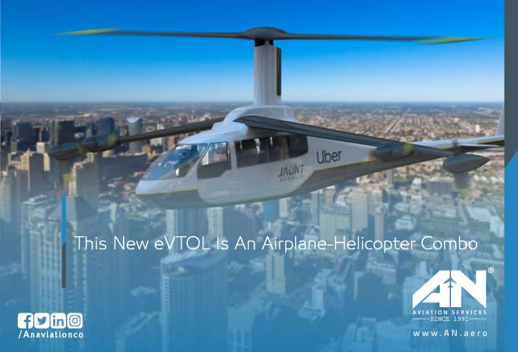 This New eVTOL Is An Airplane-Helicopter Combo