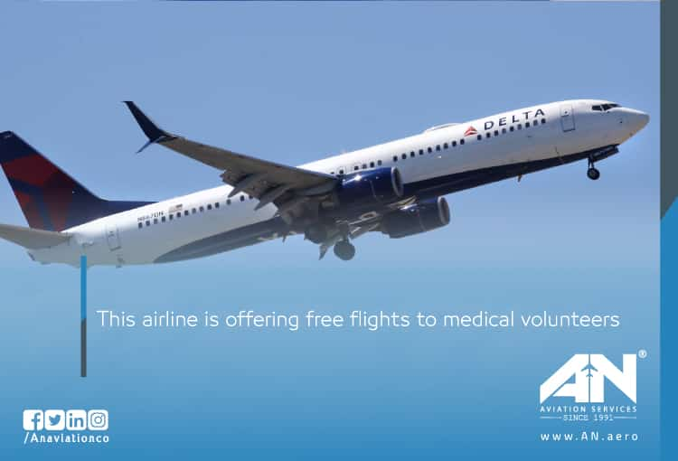 This airline is offering free flights to medical volunteers