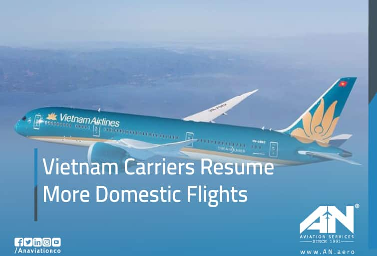 Vietnam Carriers Resume More Domestic Flights