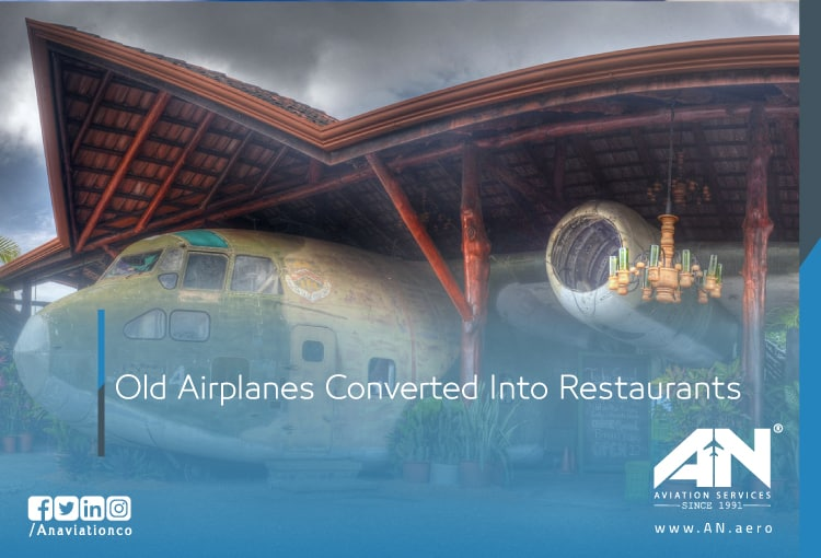 Old Airplanes Converted Into Restaurants