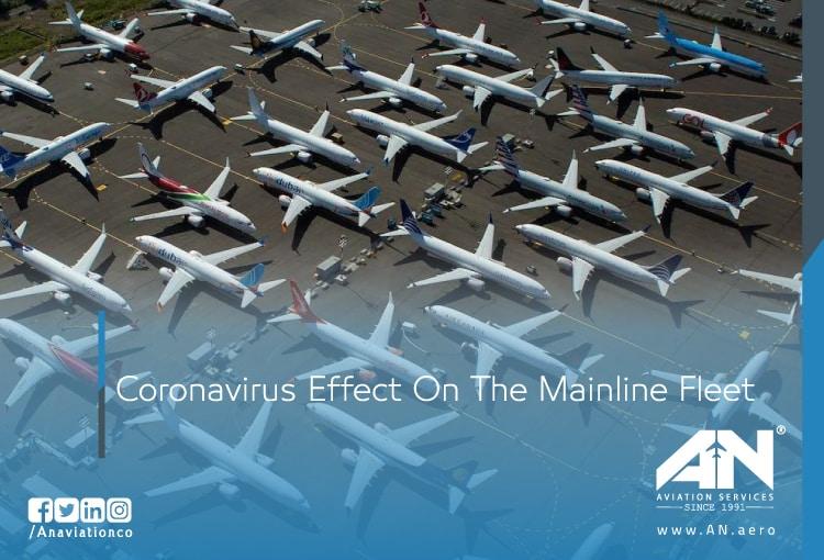 Coronavirus Effect On The Mainline Fleet