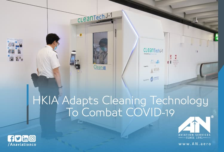 HKIA adapts cleaning technology to combat COVID-19