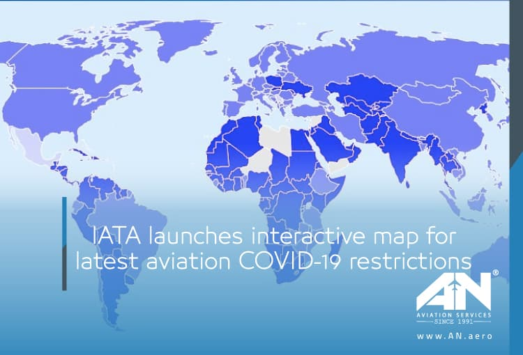 IATA launches interactive map for latest aviation COVID-19 restrictions
