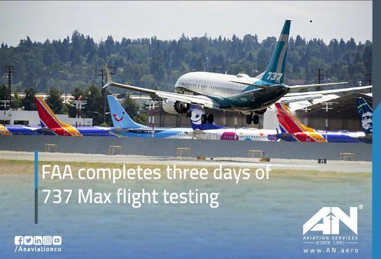 737 Max flight testing