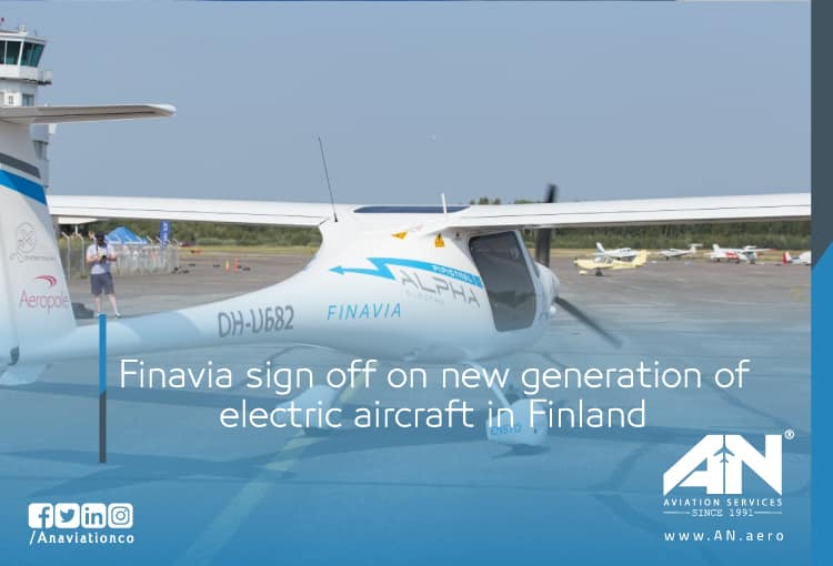 Finavia sign off on new generation of electric aircraft in Finland