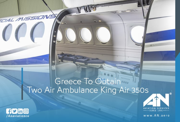 Greece To Obtain Two Air Ambulance King Air 350s